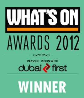 What's On Awards 2012