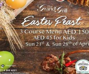 Enjoy a delicious Easter feast