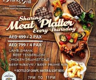 Sharing Meat Platter