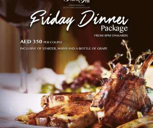 Thursday Dinner Package