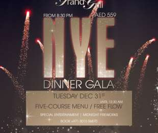 NEW YEAR DINNER GALA