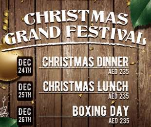 Christmas Grand Festival, Dec 24th - Dec 26th
